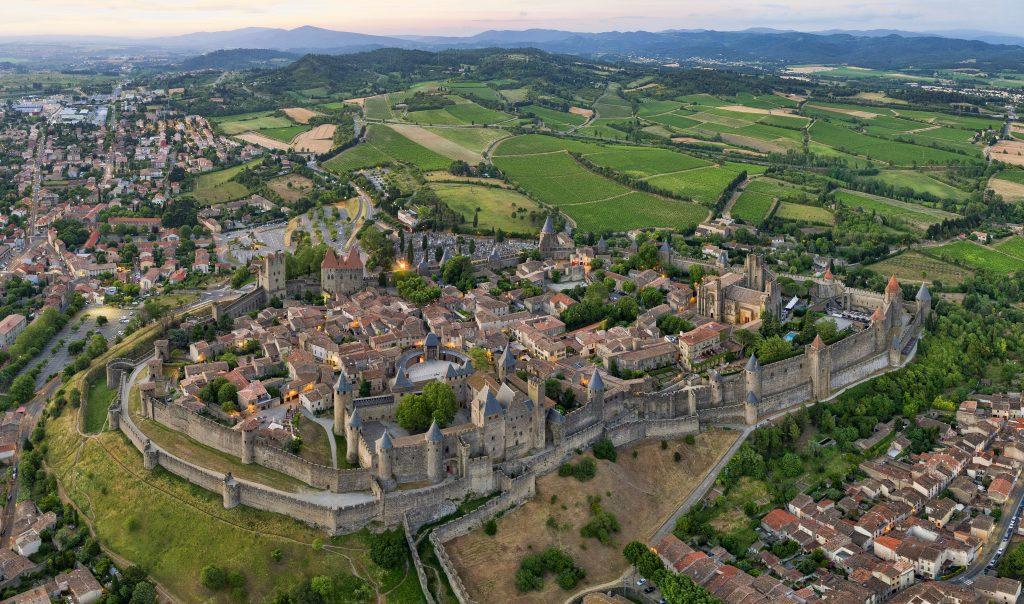 Photo du Château de Carcassonne - Carcassonne