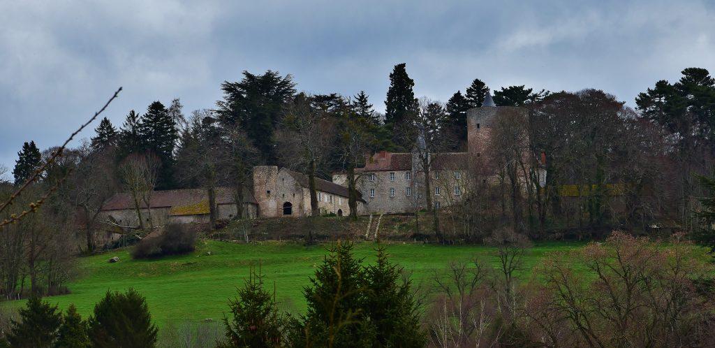 Photo du Château de Beauvoir (Échassières) - Échassières