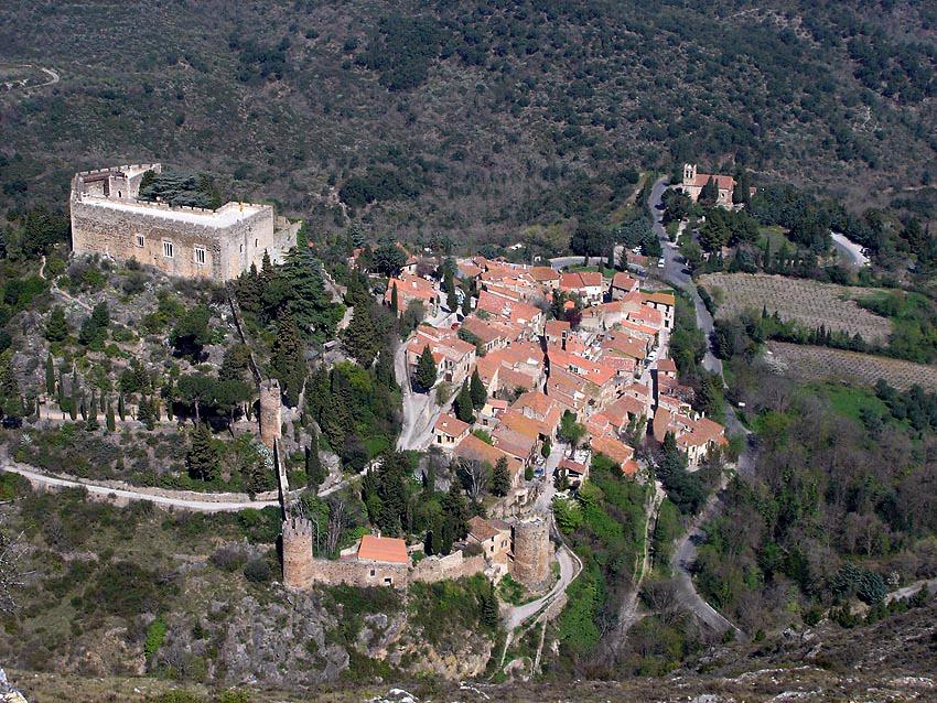 Photo du Château de Castelnou - Castelnou