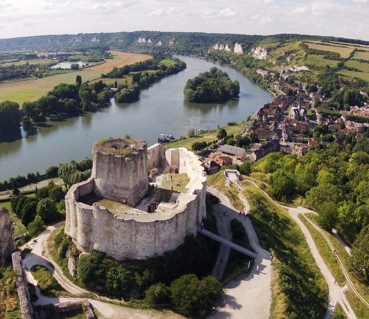 Photo du Château-Gaillard (Les Andelys) - Les Andelys