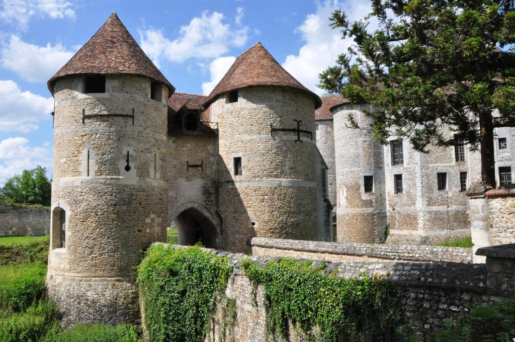 Photo du Château d'Harcourt (Eure) - Harcourt