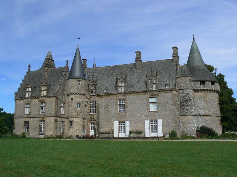 Photo du Château de Bonnefontaine - Antrain 1