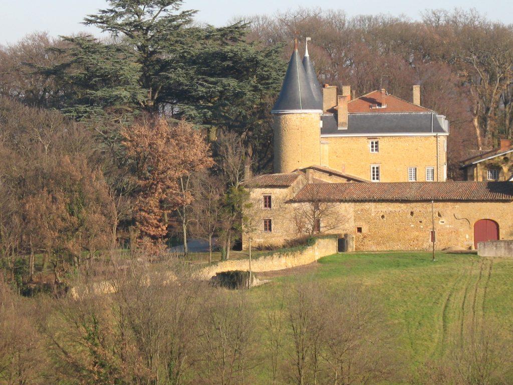 Photo du Château de Janzé - Marcilly-d'Azergues