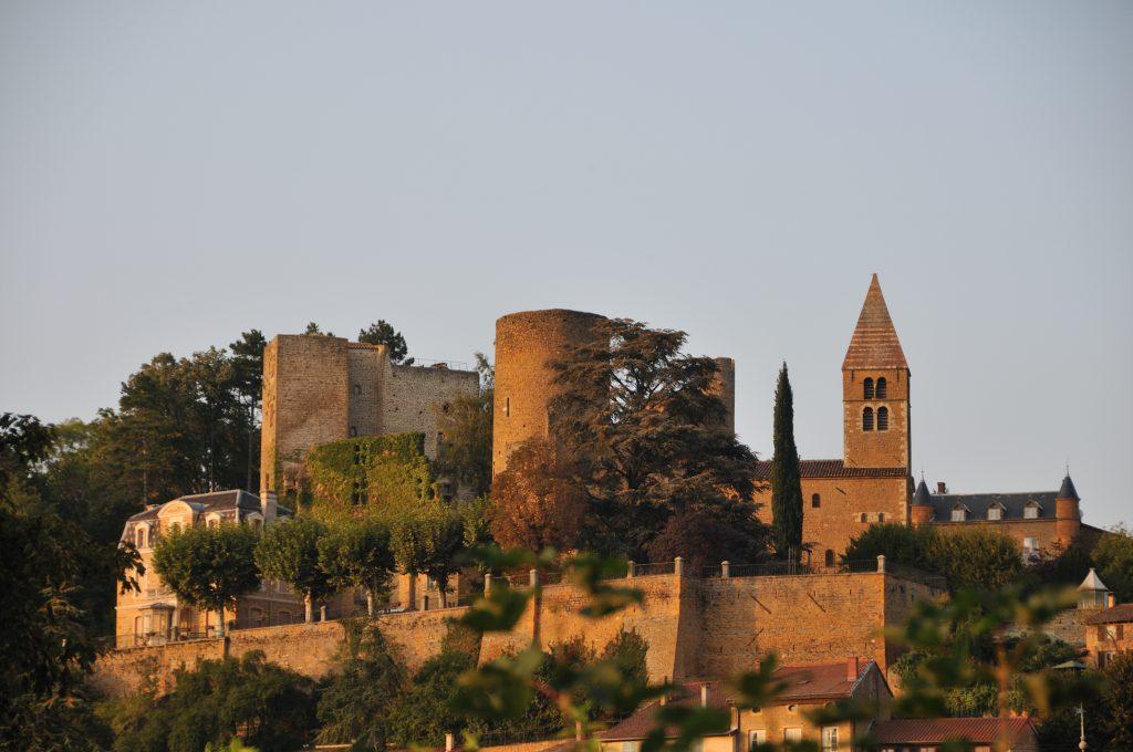 Photo du Château de Châtillon-d'Azergues - Châtillon