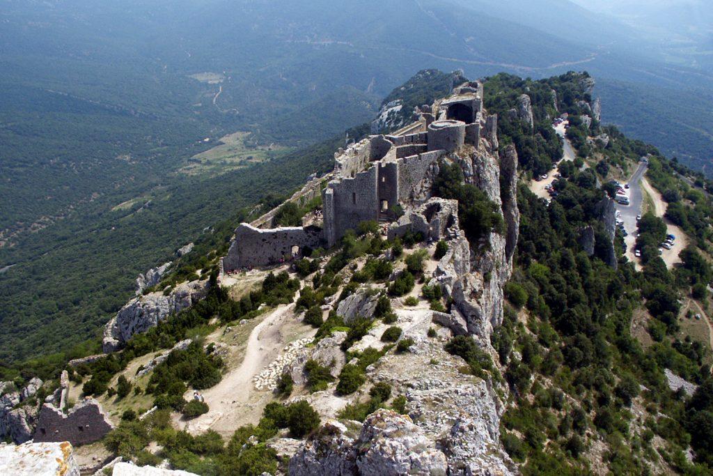 Photo du Château de Peyrepertuse - Duilhac-sous-Peyrepertuse