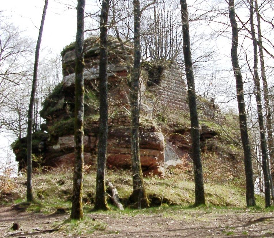 Photo du Château de Rothenburg - Philippsbourg